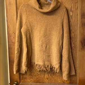 Anthropologie cowl neck sweater